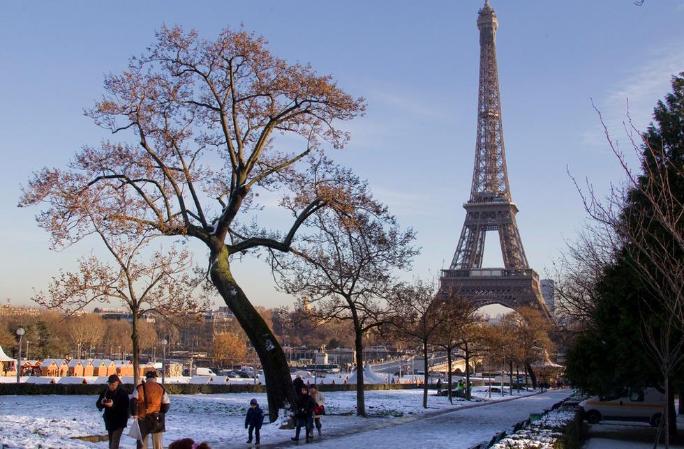 A torre Eiffel, em Paris (França), numa imagem de 2010.