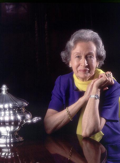 La escritora Simone Ortega, en una fotografía tomada en 1989.