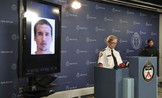 Polícia de Toronto divulga imagem de Thye Mattos Ventura.