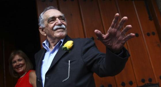 García Márquez, ao completar 87 anos no México.