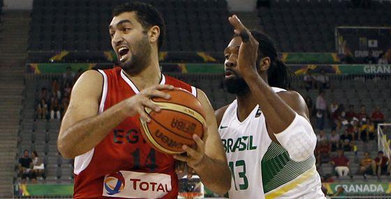Ibrahim Ramy, do Egito, e Nenê, do Brasil