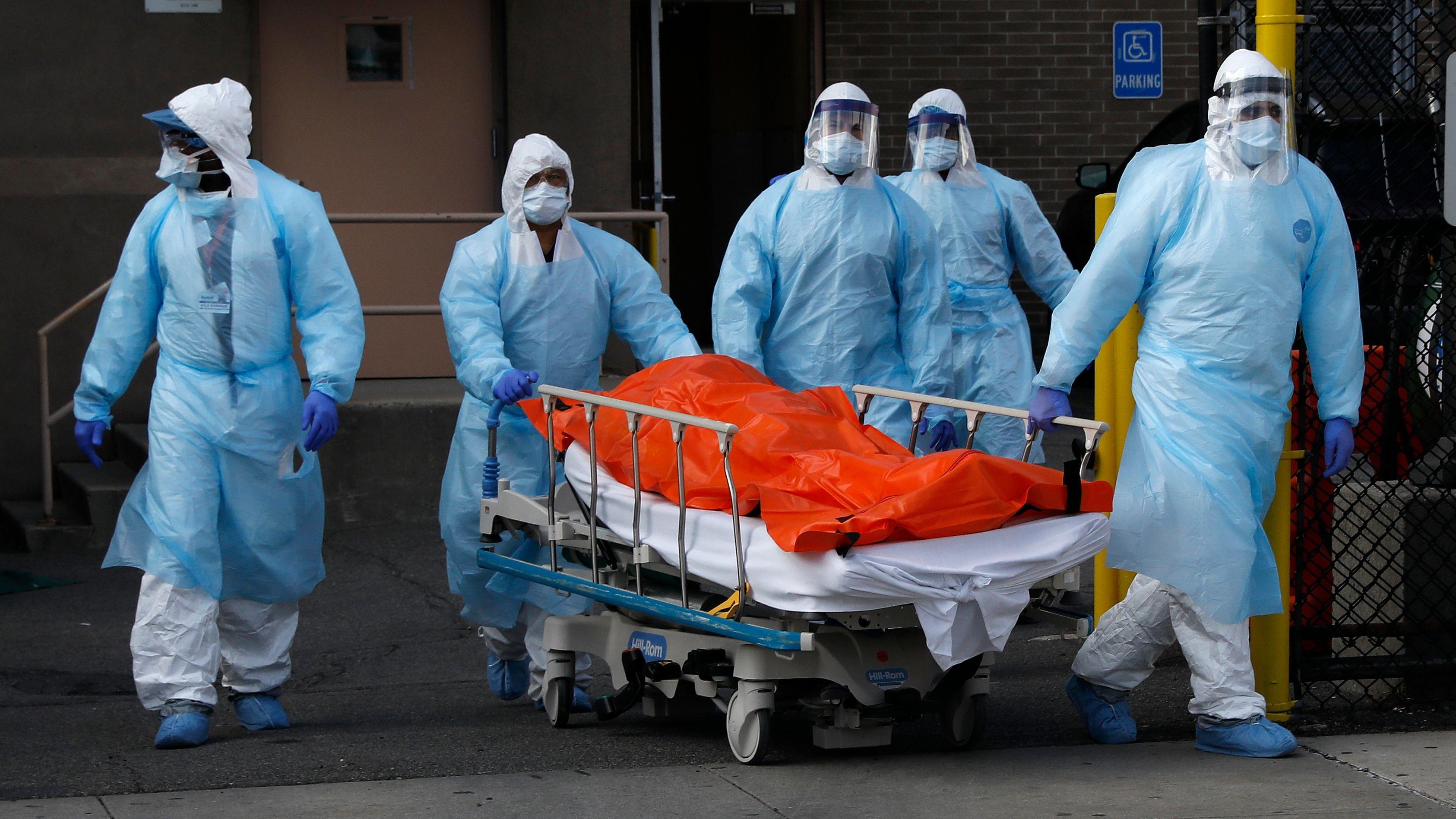 Estados Unidos sobrepasa los 10.000 muertos por coronavirus | Sociedad | EL  PAÍS