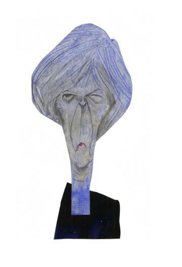 Theresa May, primeira-ministra do Reino Unido.