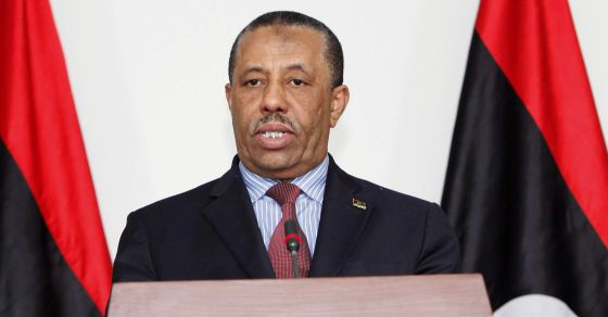 Abdullah Al Theni, primeiro-ministro interino da Líbia.