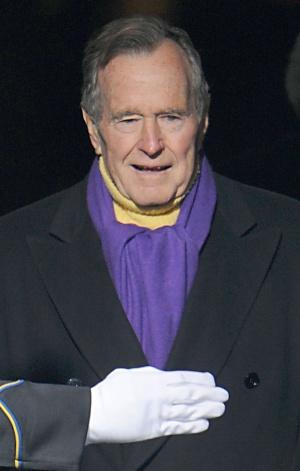 George Bush pai, em 2009