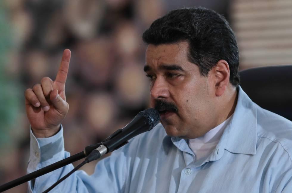 Nicolás Maduro, em um discurso em Chaguaramas (Venezuela) nesta sexta-feira.