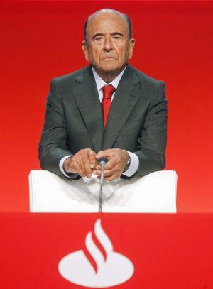 Emilio Botín, em uma imagem de arquivo.