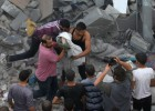 Já são mais de 1.110 ataques do Exército de Israel. Cerca de 300 casas foram destruídas, provocando o deslocamento de 2.000 cidadãos. Quatro israelenses se feriram após o revide do Hamas