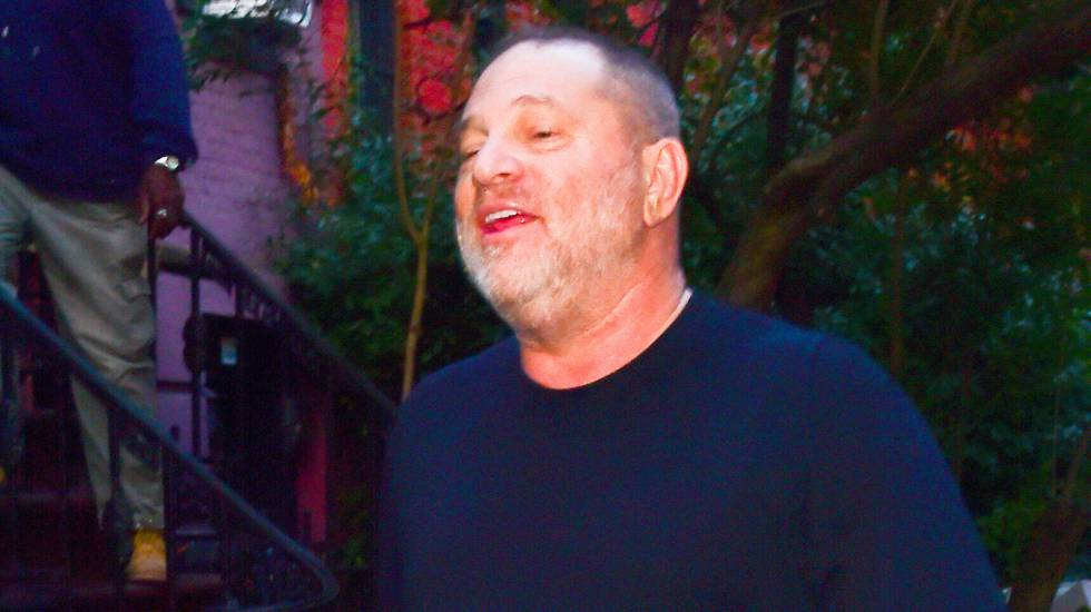 Harvey Weinstein, passeando pelo Soho nova-iorquino na sexta-feira.