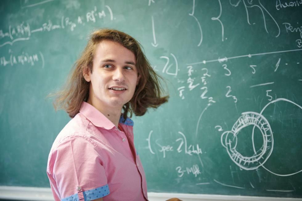 O alemão Peter Scholze, diretor do Instituto Max Planck de Matemática.