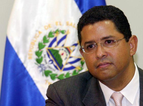 O ex-presidente salvadorenho Francisco Flores, em 2005.