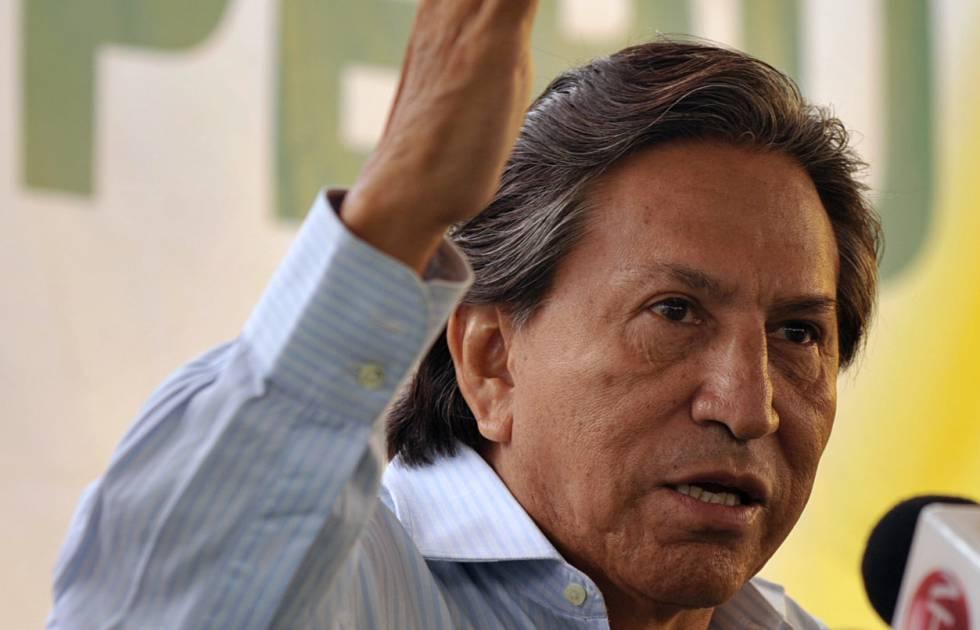 O ex-presidente peruano Alejandro Toledo.