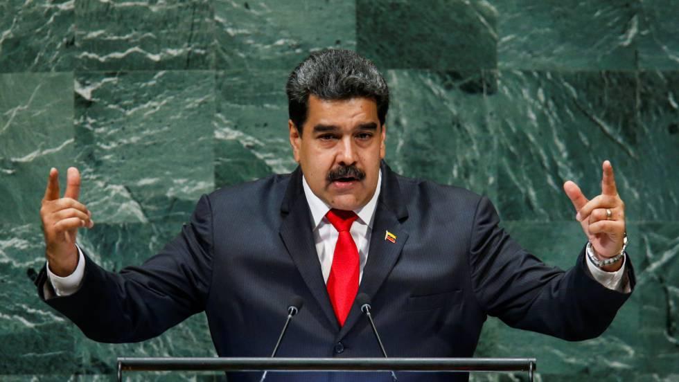 Nicolás Maduro, nesta quarta-feira, na Assembleia Geral da ONU