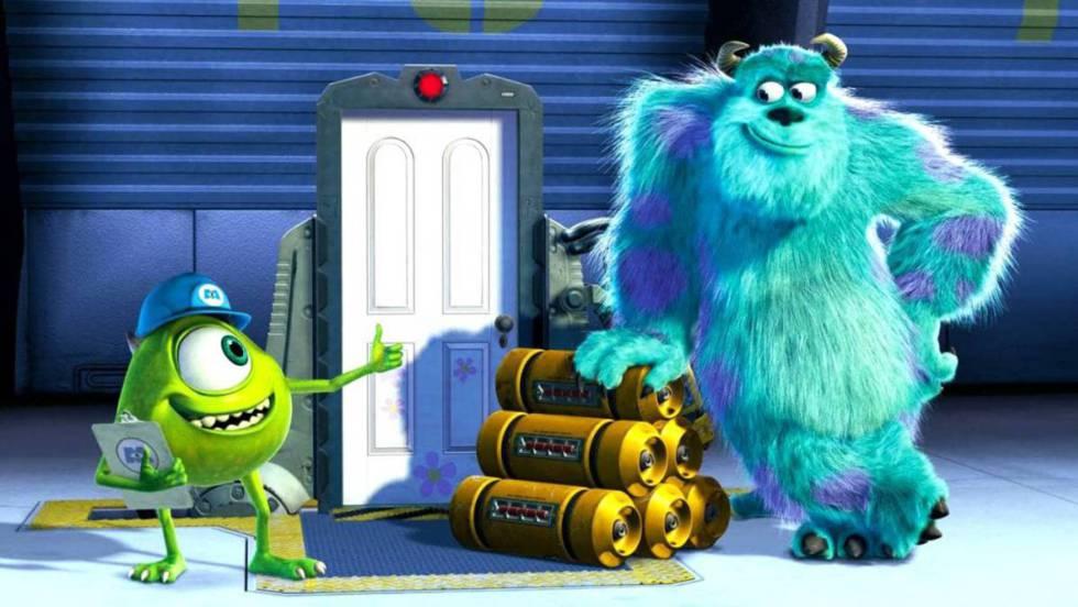 Cena do filme Monstros S.A.