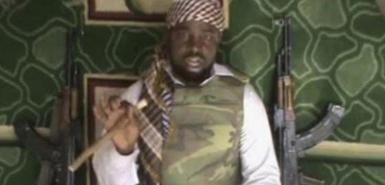 Abubakar Shekau, líder da Boko Haram.