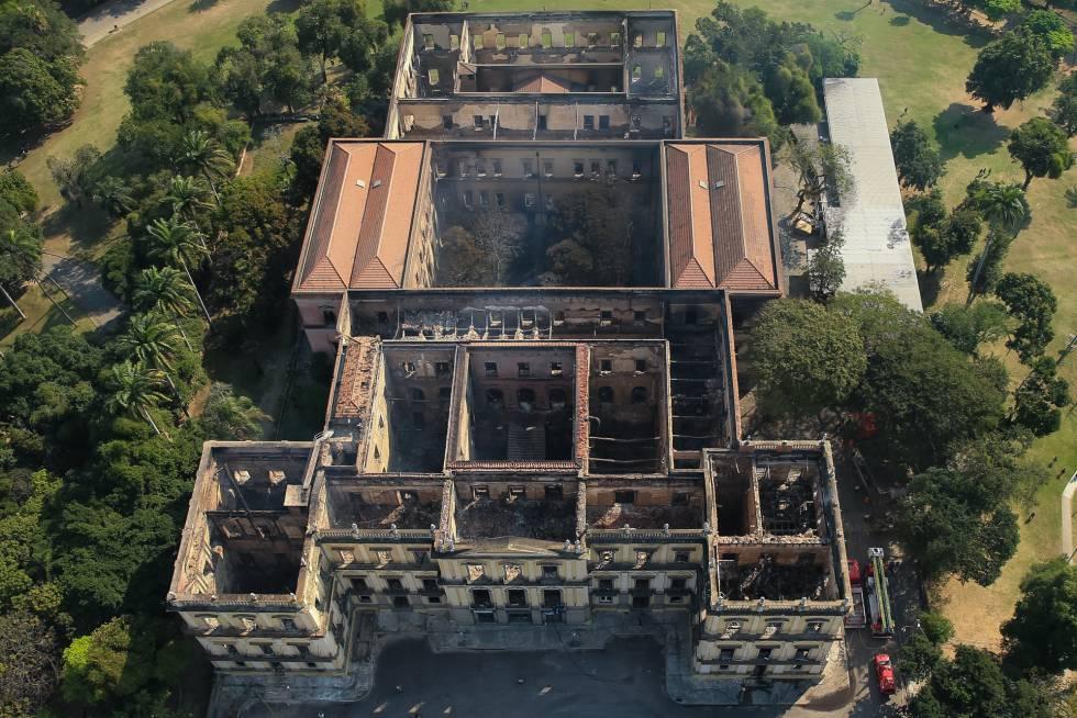 Incêndio acirra debate sobre verba para Museu Nacional na busca por  culpados | Brasil | EL PAÍS Brasil