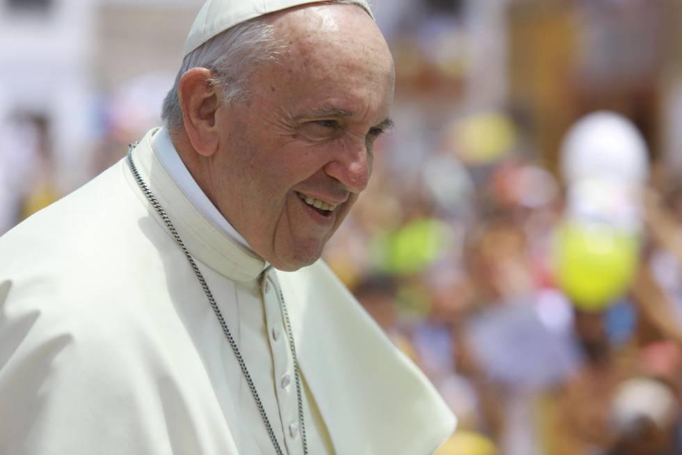O papa Francisco, no Peru.