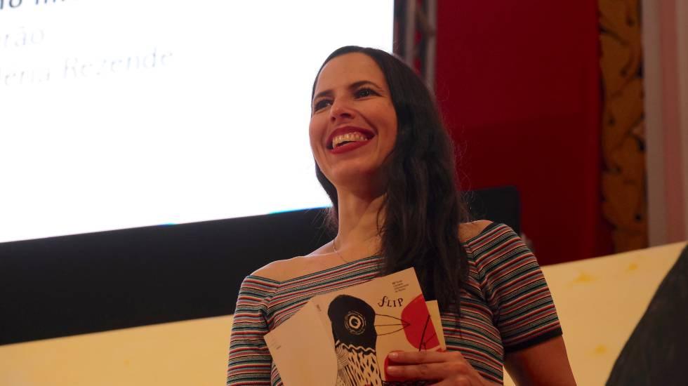 Joselia Aguiar, durante a Flip do ano passado
