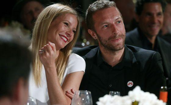 Gwyneth Paltrow e Chris Martin em janeiro deste ano.