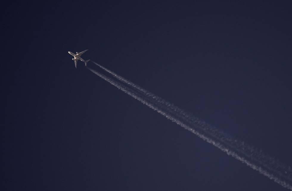 Os aviões são responsáveis por 2% das emissões de CO2.