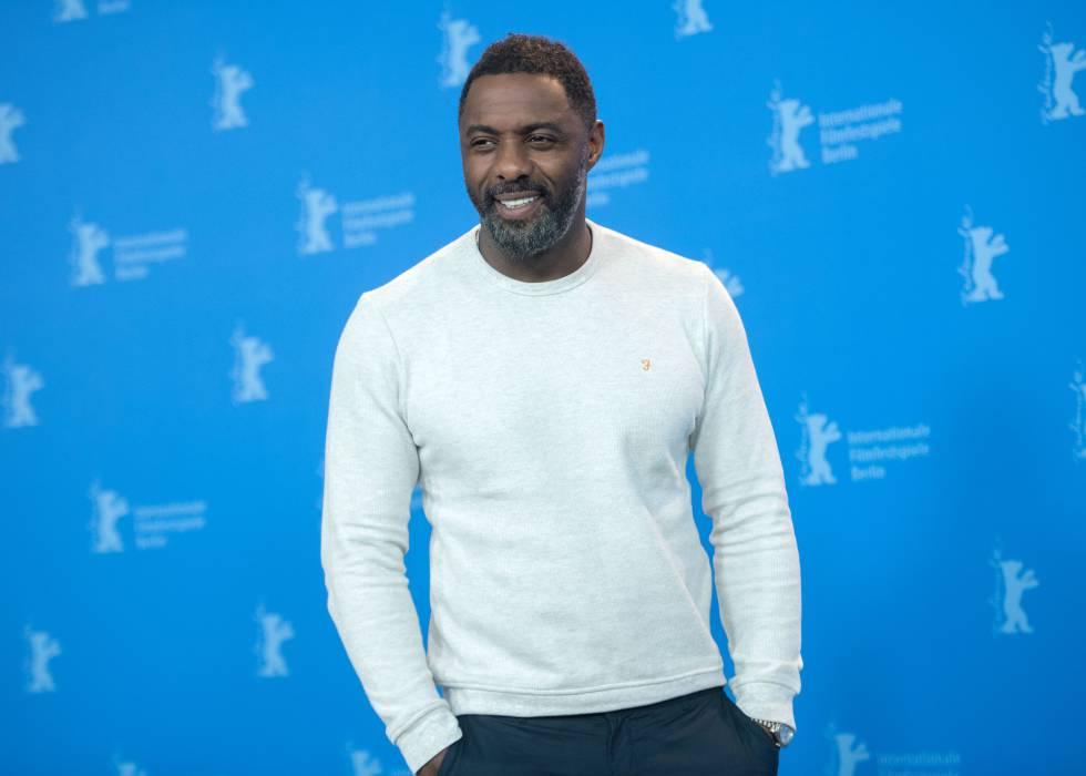 Idris Elba, o homem vivo mais sexy do mundo em 2018 segundo a revista 'People'.