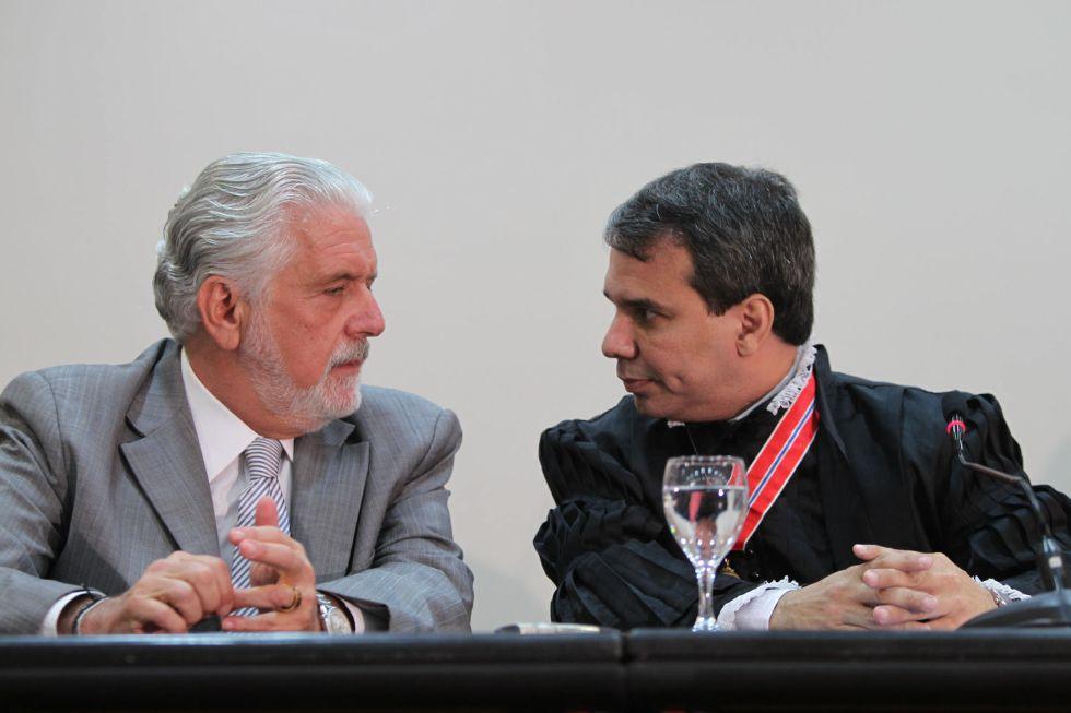 Wagner e Wellington Lima, em 2012, na Bahia./ Manu Dias / Secom