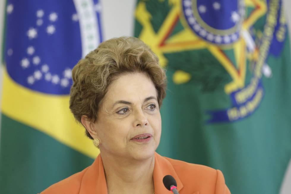 Dilma Rousseff nesta quinta-feira.