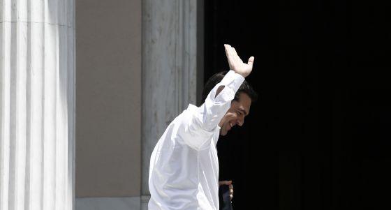 Alexis Tsipras, nesta quinta-feira em Atenas.
