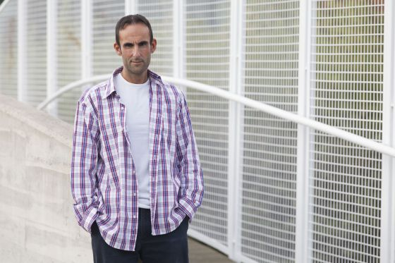 Alberto Garrido, na atualidade, dois anos após deixar os anabolizantes.