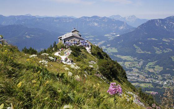 Visita ao Ninho de Águia, no pico Hoher Göll, em Berchtesgaden (Alemanha).