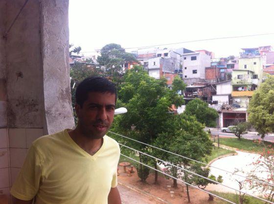 Márcio Behring, 36, do Campo Limpo, cogita deixar o bairro.