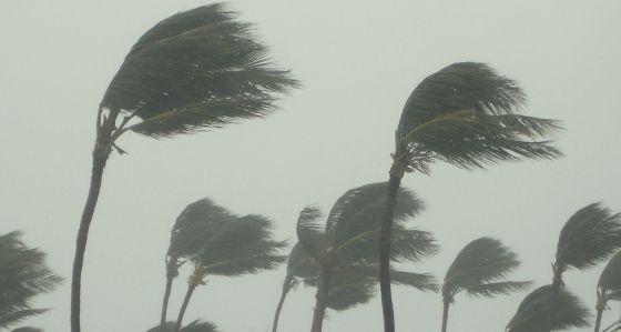 Uma tempestade tropical.