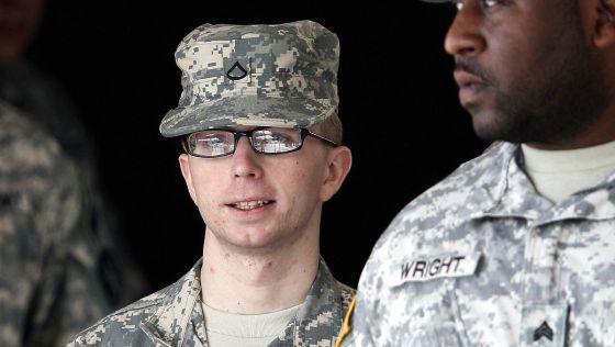 A soldado Manning, em foto de arquivo.