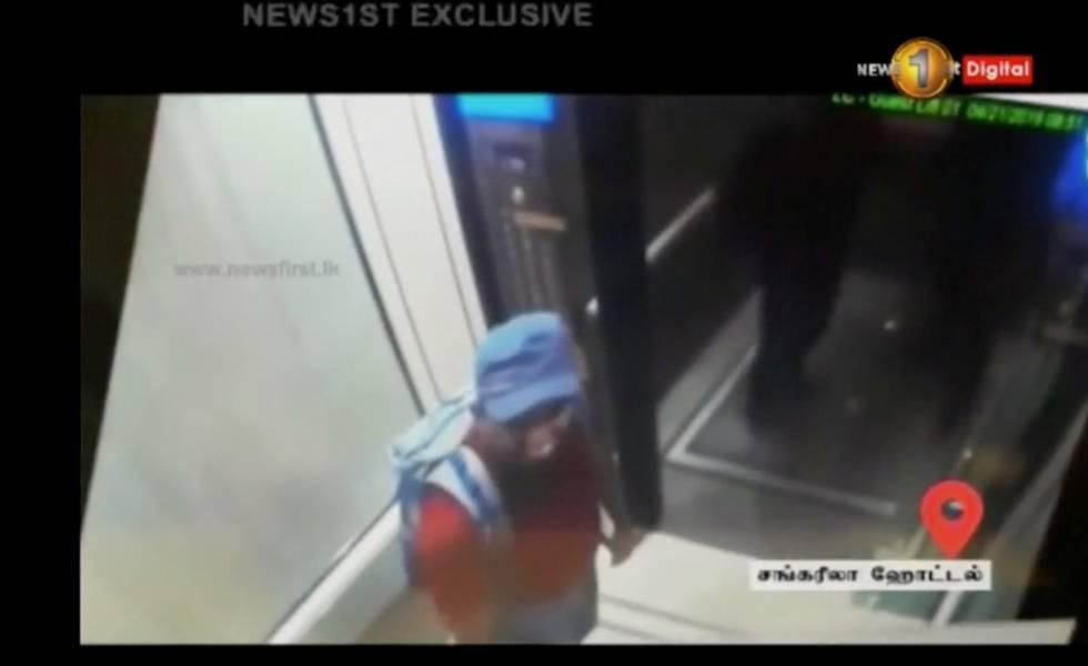 Imagem de um dos terroristas em Colombo.