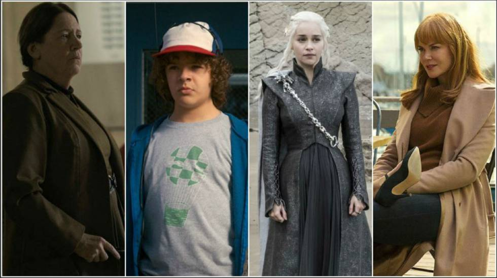 'The Handmaid's Tale', 'Stranger Things', 'Game of Thrones' e 'Big Little Lies'.