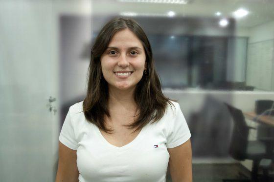 A ganhadora Mariana Vasconcelos.