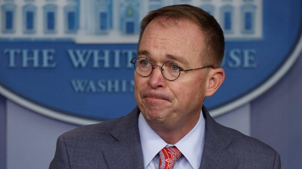O chefe de Gabinete da Casa Branca, Mick Mulvaney.