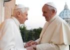Depois de rezar juntos na capela da residência de Ratzinger, fizeram um encontro privado de cerca de meia hora