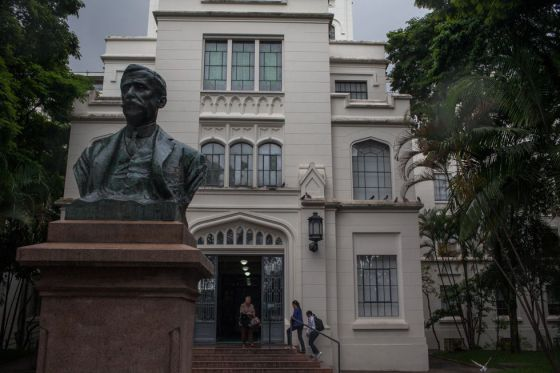 Homenagem ao Doutor Arnaldo na Faculdade de Medicina.