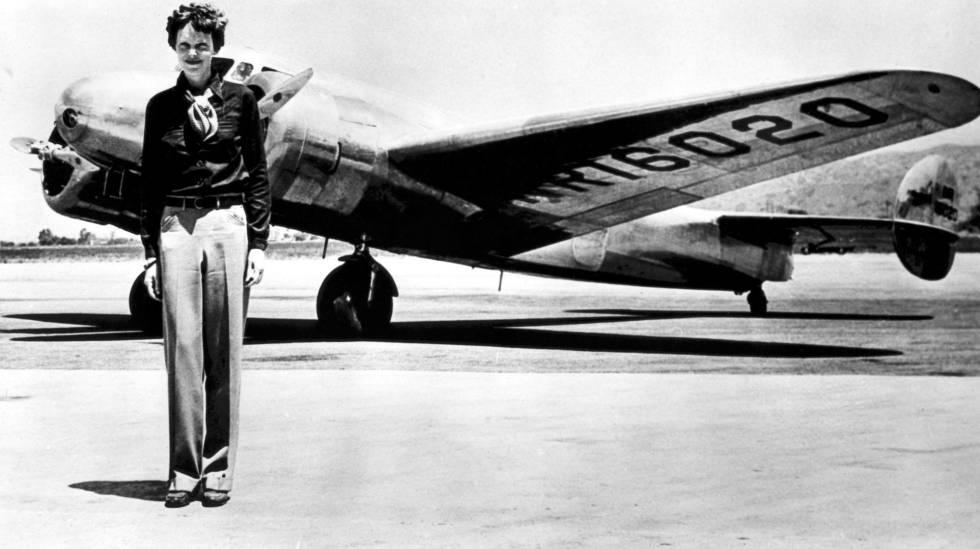 Amelia Earhart onde desapareceu em 1937