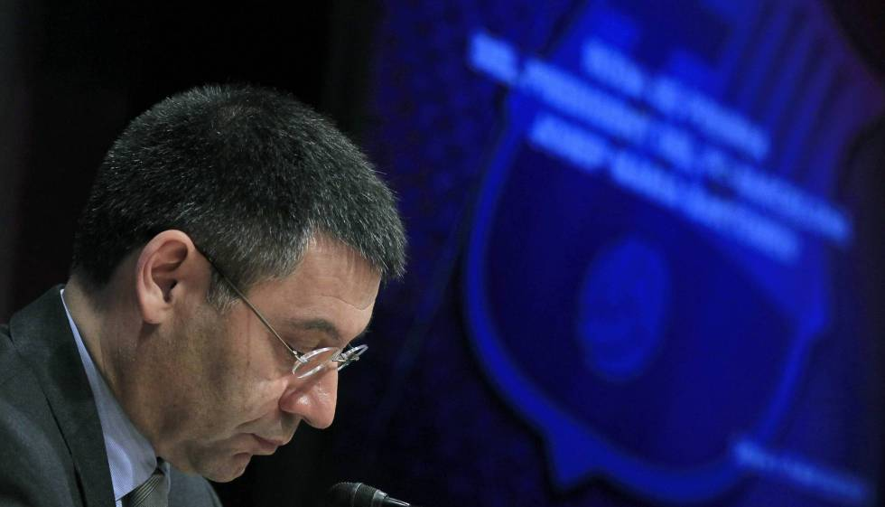Bartomeu, o mandatário do Barça.