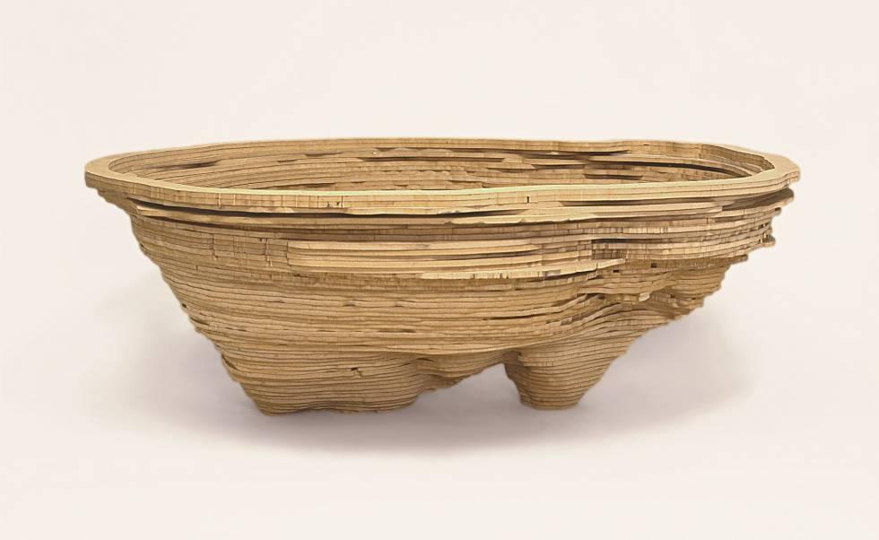 'Autorretrato' (1999), obra do escultor Angelo Venosa.