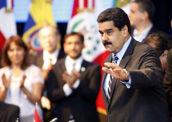 Maduro, na cúpula do Mercosul.
