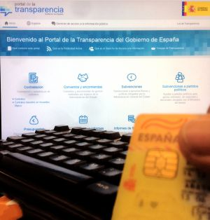 The Spanish government's transparency website.