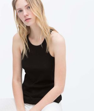 Uma das modelos da Zara.