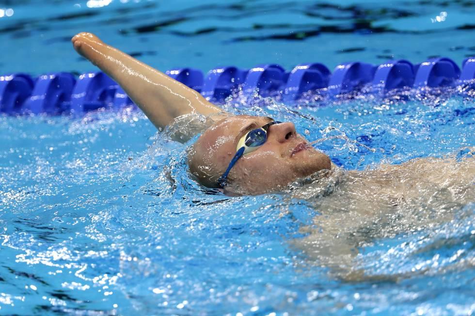 Atleta paralímpico nesta terça-feira, no Rio de Janeiro.