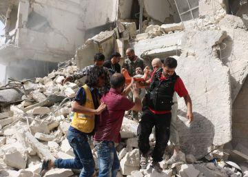 Forças de Assad bombardearam bairros rebeldes depois do fracasso da diplomacia