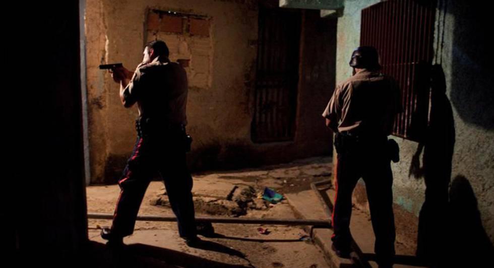 Caracas, uma das cidades mais violentas do mundo.