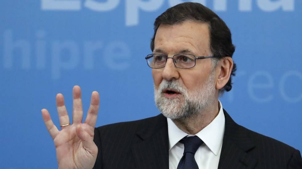O presidente do governo Espanhol, Mariano Rajoy.