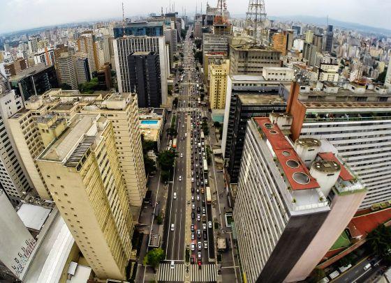 A Avenida Paulista, em janeiro deste ano.